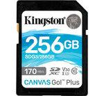 Kingston SDXC Card 256GB Canvas Go! Plus U3 170R 90W 4K