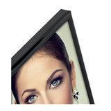 Zep fotolijst metaal 20x25cm glanzend zwart