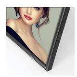 zep fotolijst metaal 10x15 cm zwart parelrand BN144