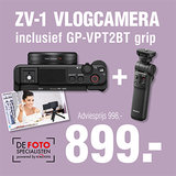 Sony ZV-1 Vlogcamera + GP-VPT2BT Grip