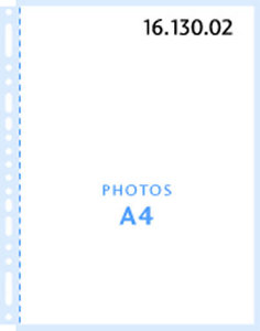 Henzo foto insteekbladen A4 10 stuks 16.130.02