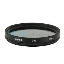 Green.L CPL slim filter 72 mm