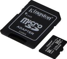 Kingston microSDHC Card 32GB Class10 U1 100MB Canvas Select Plus incl. adapter