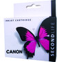 Secondlife inkt Canon CLI-581 XL Photo Blue